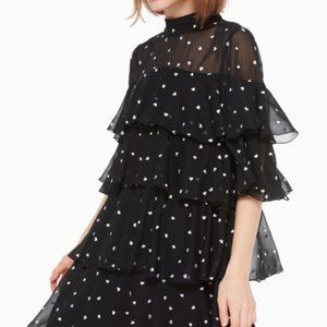 Kate Spade New York Heartbeat Embroidered Dress